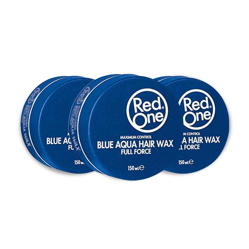 Red One Wax Aqua Blue Voordeelpakket 3 stuks