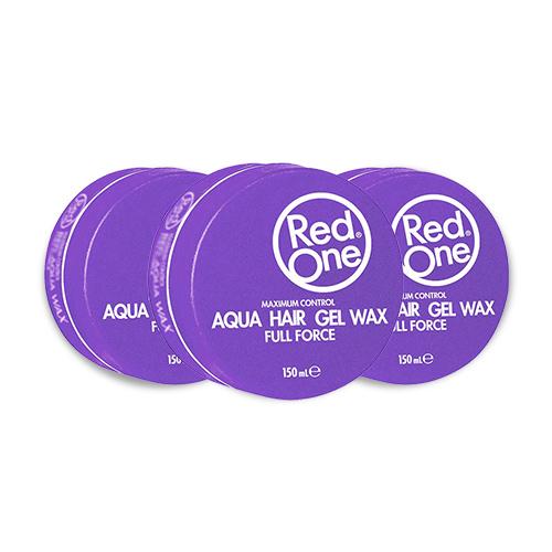 Red One Gel Wax Aqua Paars Voordeelpakket 3 stuks