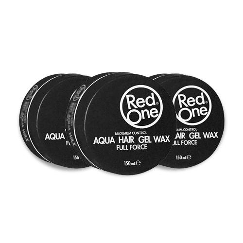 Red One Gel Wax Aqua Zwart Voordeelpakket 3 stuks