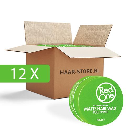 Red One Wax 12 stuks voordeelpakket (groen)
