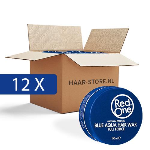 Red One Wax 12 stuks voordeelpakket (Blauw)