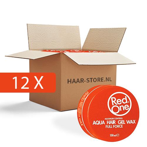 Red One Wax 12 stuks voordeelpakket (Oranje)
