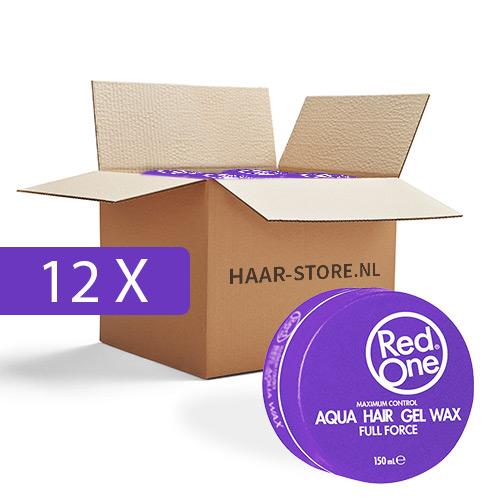 Red One Wax 12 stuks voordeelpakket (paars)