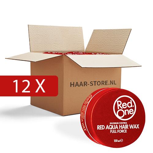 Red One Wax 12 stuks voordeelpakket (rood)