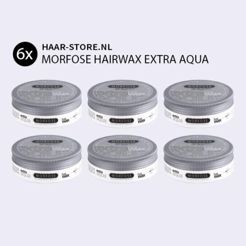 Morfose Haar Wax Extra Aqua Voordeelpakket 6x