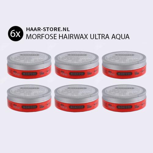 Morfose Ultra Aqua Haar Wax Voordeelpakket 6x